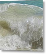 Waves Metal Print by Cheryl Young