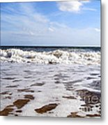Waves Metal Print by Ramona Matei