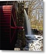 Wayside Grist Mill 2 Metal Print by Dennis Coates