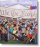 We The People Metal Print by Anthony Falbo