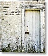 Weathered Door Metal Print by Diane Diederich