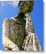Weathered Woman Metal Print by Ed Weidman