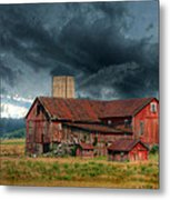 Weathering The Storm Metal Print by Lori Deiter
