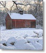 Weathering Winter Metal Print by Bill Wakeley