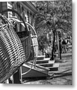 Weaving The Past Metal Print by Greg and Chrystal Mimbs