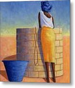 Well Woman Metal Print by Tilly Willis