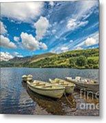 Welsh Boats Metal Print by Adrian Evans