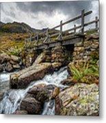Welsh Bridge Metal Print by Adrian Evans