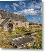 Welsh Church Metal Print by Adrian Evans