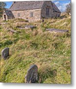 Welsh Tombs Metal Print by Adrian Evans