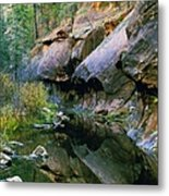 West Branch Oak Creek Metal Print by Joshua House