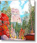 West Fork - Sedona Metal Print by Steve Simon