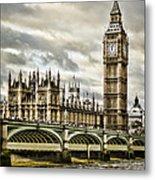 Westminster Metal Print by Heather Applegate