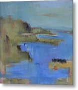 Westport River Metal Print by Jacquie Gouveia