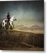 Westward Metal Print by Ron  McGinnis