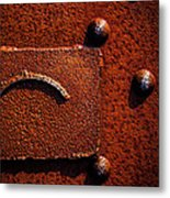 Wet Rust Metal Print by Bob Orsillo