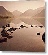 Wetlands Mornings Metal Print by Evelina Kremsdorf