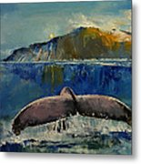 Whale Song Metal Print by Michael Creese