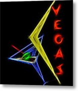 What Happens In Vegas Metal Print by Aged Pixel