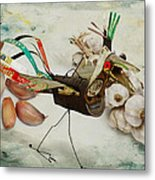 What Nature Delivers - Those Are Not My Eggs  Metal Print by Yvon van der Wijk