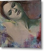 When A Dream Has Colored Wings Metal Print by Dorina  Costras