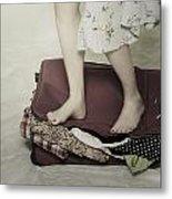 When A Woman Travels Metal Print by Joana Kruse