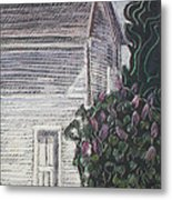 When Lilacs Last... Metal Print by Grace Keown