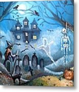 When October Comes Metal Print by Shana Rowe Jackson