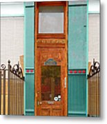 When One Door Closes Metal Print by Christine Till