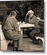 Where Is Bobby Fischer Metal Print by Madeline Ellis