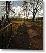 Where Rests The Weary Widow Metal Print by Kim Kruger