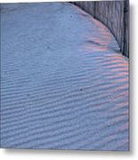 Where The Boardwalk Ends Metal Print by JC Findley