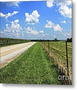 Where The Road May Take You Metal Print by Cathy  Beharriell