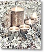 White Christmas Metal Print by Mo T
