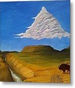 White Cloud Metal Print by John Lyes