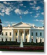 White House Sunrise Metal Print by Steve Gadomski
