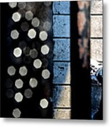 White Sneakers On The Edge Metal Print by Bob Orsillo