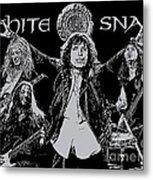 Whitesnake No.01 Metal Print by Caio Caldas