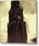 Wicked Tower Metal Print by Ayse Deniz