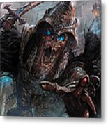 Wight Of Precinct Six Metal Print by Ryan Barger