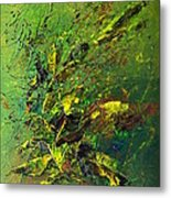 Wild Green Metal Print by Thierry Vobmann