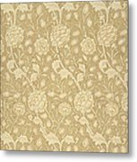 Wild Tulip Wallpaper Design Metal Print by William Morris