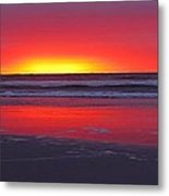 Wildwood Sunrise Dreaming Metal Print by David Dehner
