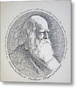William Cullen Bryant Metal Print by Henry Goode