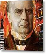 William Mckinley Metal Print by Corporate Art Task Force