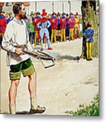 William Tell, From Peeps Into The Past Metal Print by Trelleek