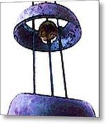 Wind Chime 8 Metal Print by Sharon Cummings