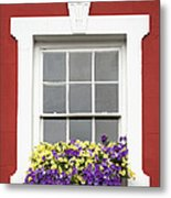 Window And Walls Triptych - Canvas 2 Metal Print by Natalie Kinnear