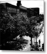 Window On Lisbon Street Metal Print by Bob Orsillo