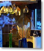 Window To My Kitchen Metal Print by Brian Wallace